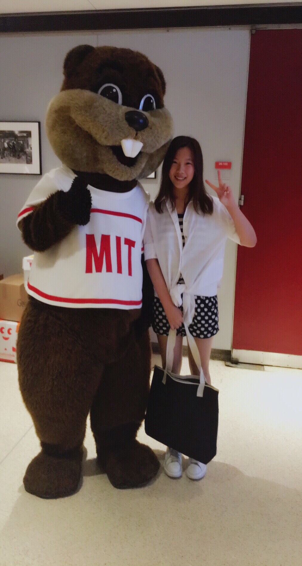 "Mengyu ""Rain"" Xu '19: ""I am a girl who loves math."""