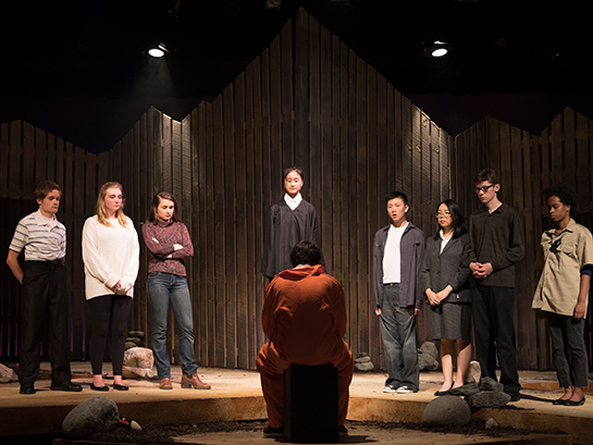 "Peddie presents ""The Laramie Project"""