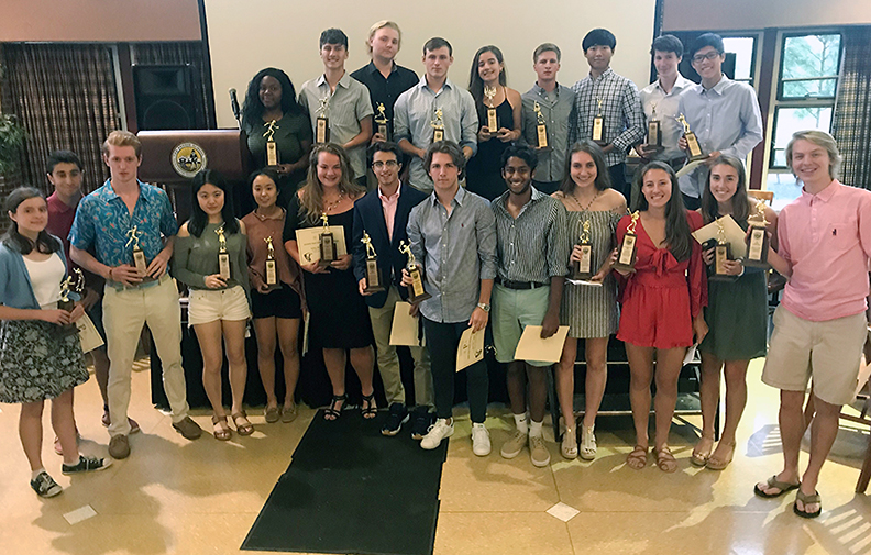 Spring Sports Banquet Honors Student-Athletes