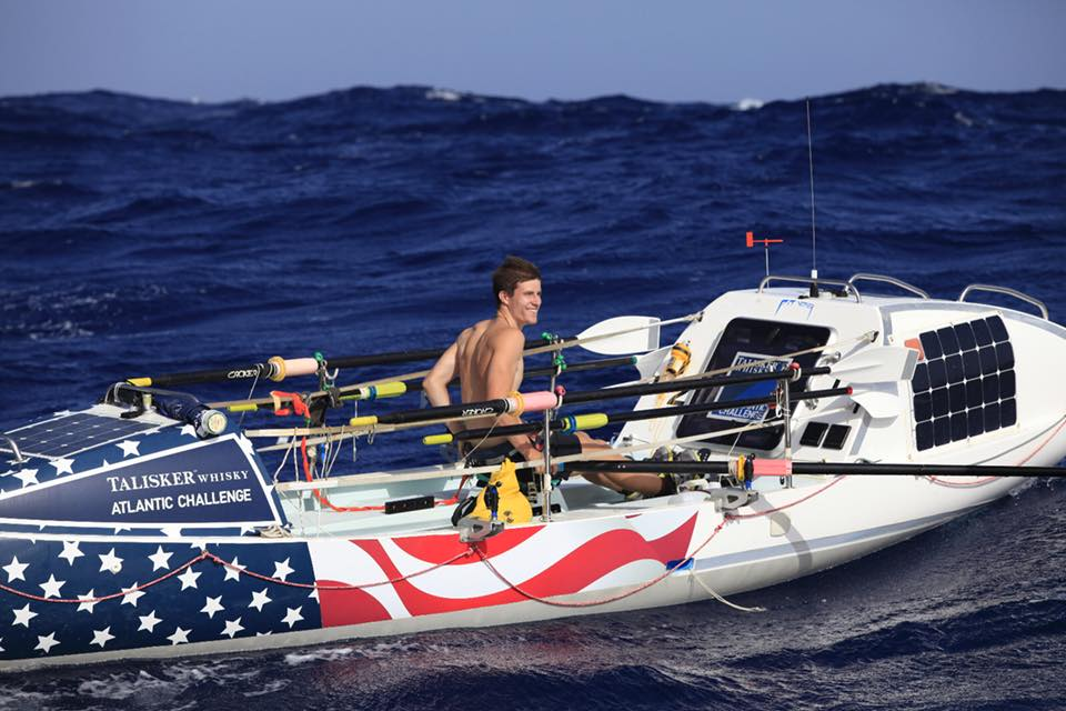 Oliver Crane '17 Rows the Atlantic