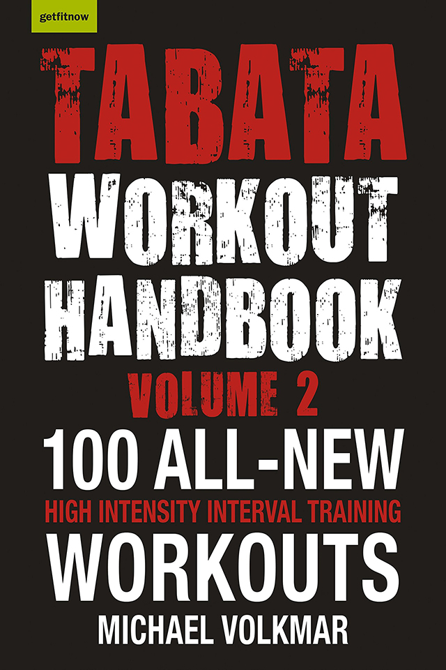 Tabata Workout Handbook by Peddie's Mike Volkmar